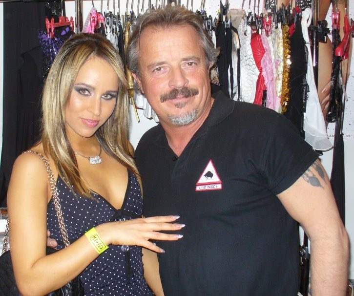 con Aleska  Diamond-Misex 2009